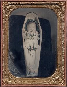 Post Mortem Girl In Casket